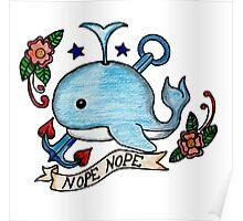 Nope Nope // Emoji Tattoo Series Poster