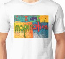 I AM Inspiration - Affirmation Unisex T-Shirt