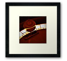 Foucault Pendulum at Griffith Observatory Framed Print