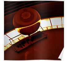 Foucault Pendulum at Griffith Observatory Poster