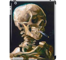 Head of a Skeleton with Lit Cigarette - Vincent van Gogh iPad Case/Skin