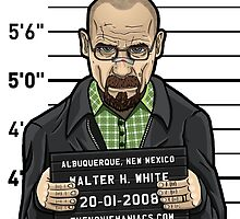 Walter White - Line Up by TheMovieManiacs