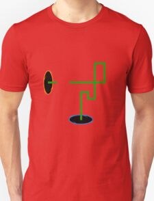 Snaking through Portals Unisex T-Shirt