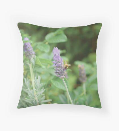 Humble Bee, Bumble Bee. Throw Pillow