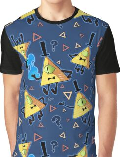 Gravity Falls - Bill Cipher  Graphic T-Shirt