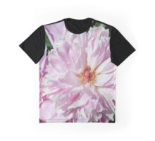 Pink Peonies Photo Graphic T-Shirt