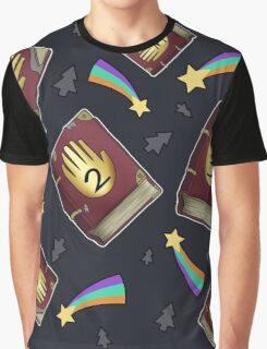 Gravity Falls - Journals Graphic T-Shirt