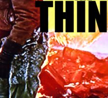 THE THING 7 Sticker