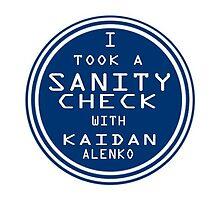 Sanity Check by TerinAngel