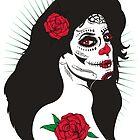 Rose the Sugar Skull  by joebarondesign