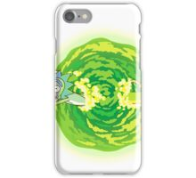 Rick and Morty Portal Jumping iPhone Case/Skin
