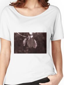 The Hanging Leaves Women's Relaxed Fit T-Shirt