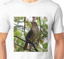 Female Bowerbird Unisex T-Shirt