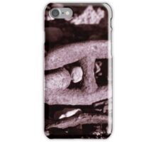 The Rusty Old Chain iPhone Case/Skin