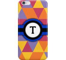 Monogram T iPhone Case/Skin