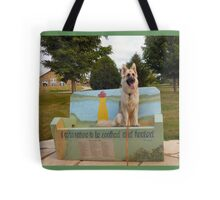 Queen of the Park Tote Bag