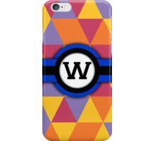 Monogram W iPhone Case/Skin