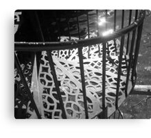 Beautiful Weathered Staircase, 2012 Canvas Print