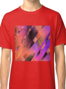 Free Floating Pattern (earth tones) Classic T-Shirt