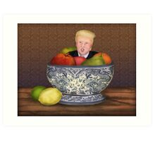 Still Life with The Donald Art Print