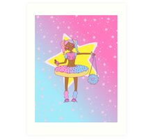 stars and sprinkles Art Print