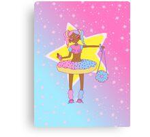 stars and sprinkles Canvas Print