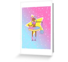 stars and sprinkles Greeting Card