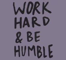 Work Hard and Be Humble Kids Tee