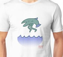 fish with legs jumping out of the water Unisex T-Shirt