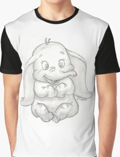 Dumbo the adorable elephant Graphic T-Shirt
