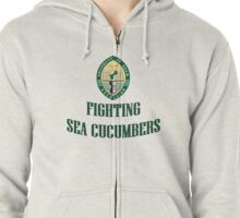 University of Guam Fighting Sea Cucumbers Zipped Hoodie