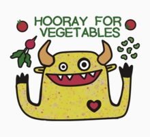 Hooray for Vegetables Kids Tee