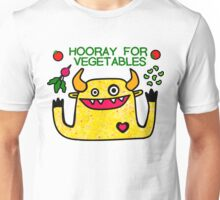Hooray for Vegetables Unisex T-Shirt