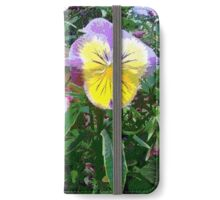 Painted Pansies iPhone Wallet/Case/Skin