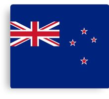 New Zealand Flag Duvet - Kiwi Bedspread Canvas Print
