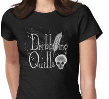 Dribbling Quills Logo Womens Fitted T-Shirt