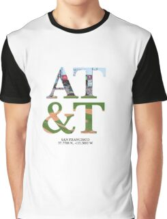 AT&T Coordinates Graphic T-Shirt