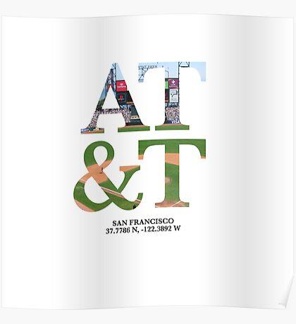 AT&T Coordinates Poster