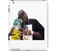 Bulma triple OG. (Front) iPad Case/Skin