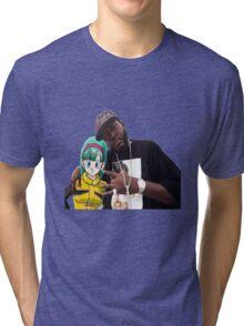 Bulma triple OG. (Front) Tri-blend T-Shirt
