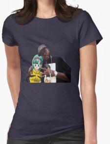 Bulma triple OG. (Front) Womens Fitted T-Shirt