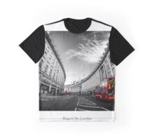 Regent Street Busses Graphic T-Shirt