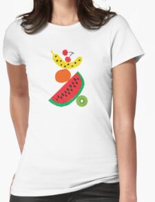Fresh Fruit Womens Fitted T-Shirt