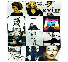 Kylie Albums Poster