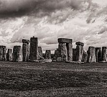 Stonehenge  in Toned Monochrome by photograham