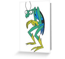 Zorak Greeting Card