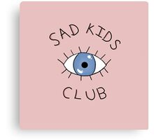 Sad Kids Club Canvas Print