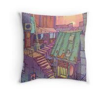 Pawn Town Throw Pillow