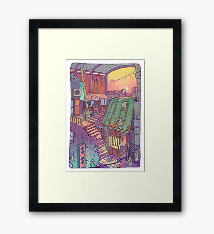 Pawn Town Framed Print