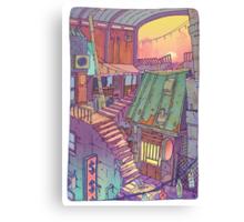 Pawn Town Canvas Print